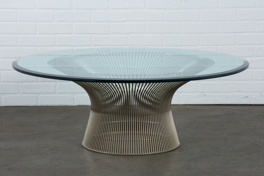 Mid-Century Modern Coffee Table by Warren Platner