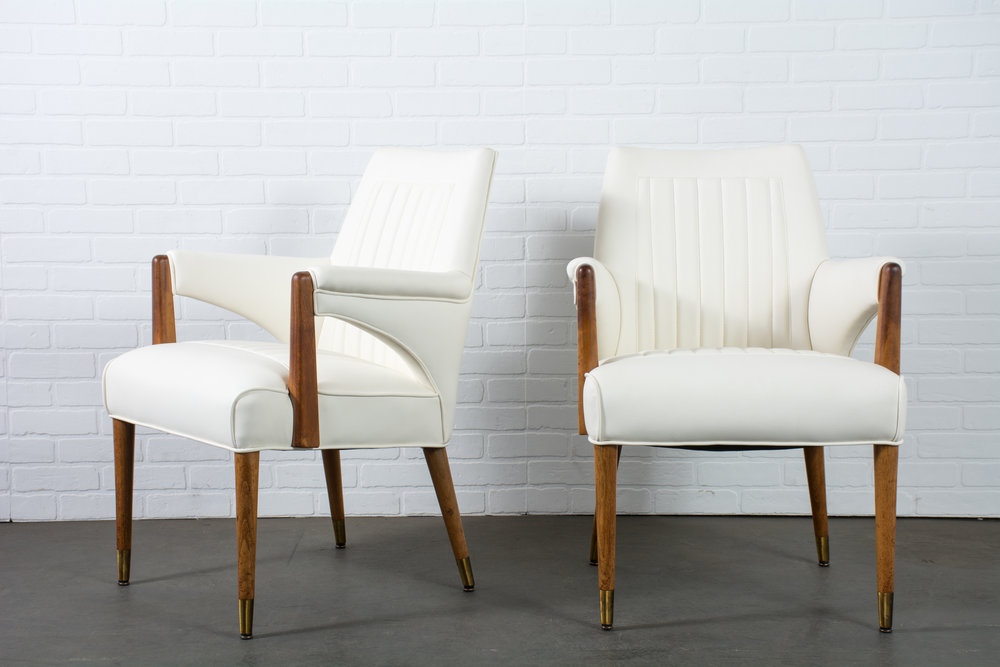 Pair of Vintage Mid-Century Armchairs by Maurice Bailey for Monteverdi-Young