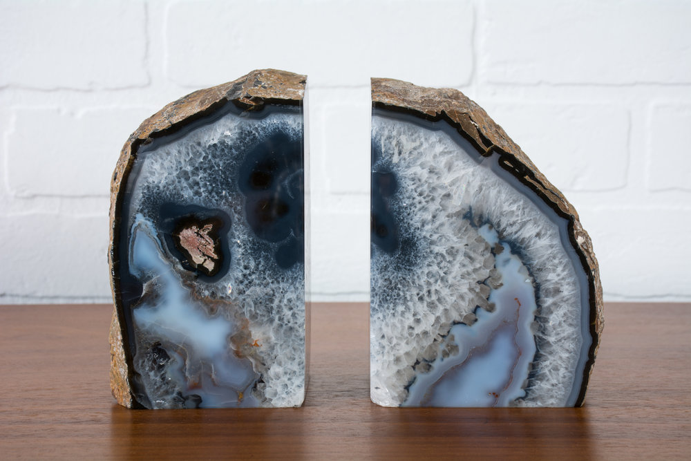 Copy of Agate Bookends