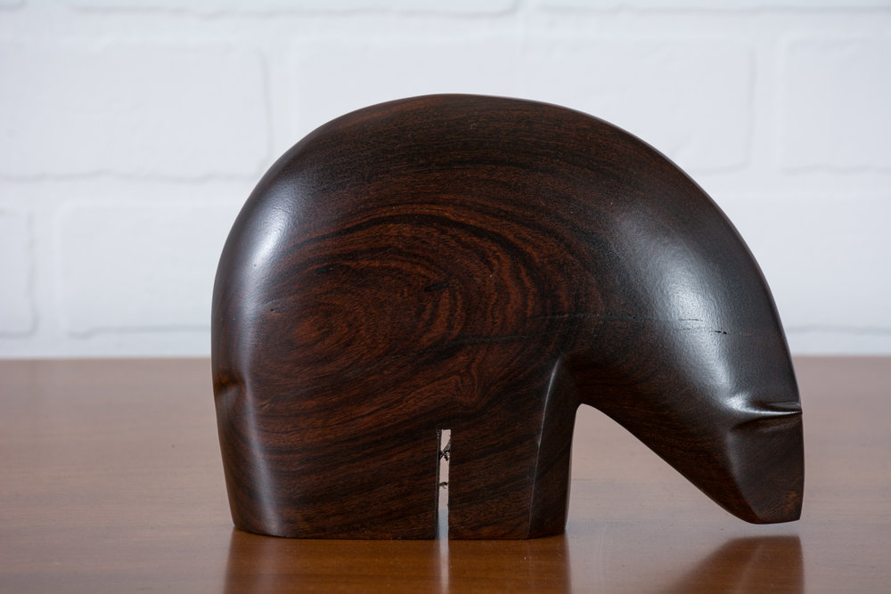 Copy of Vintage Mid-Century Rosewood Polar Bear