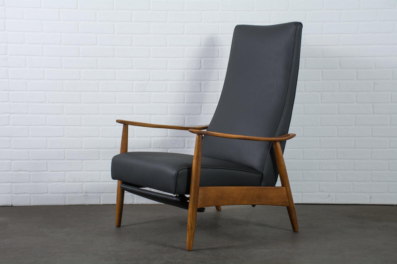 Fantastic Milo Baughman Recliner Lounge Chair 1960S Mid Century Short Links Chair Design For Home Short Linksinfo