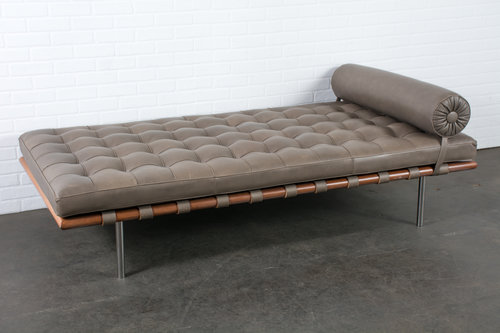 Barcelona Daybed By Mies Van Der Rohe For Knoll — Mid-Century