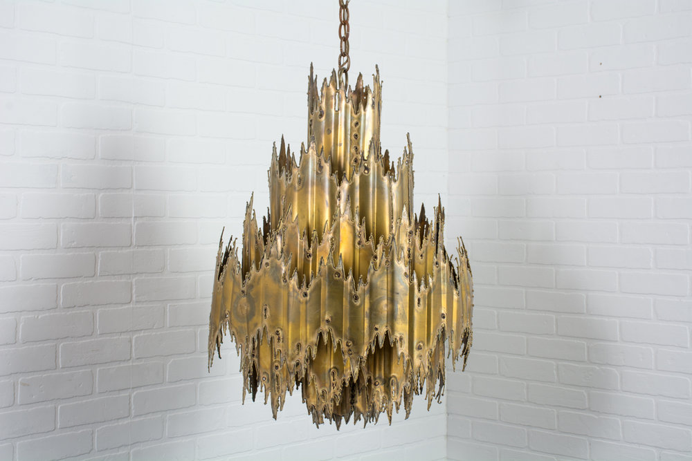 Copy of Tom Greene Brutalist Chandelier