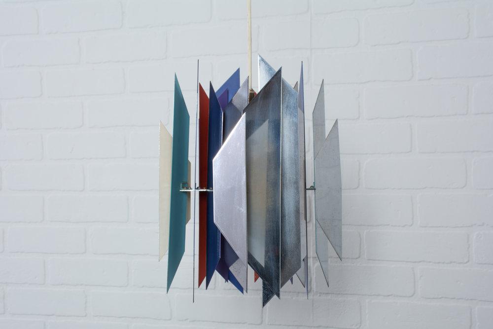 Danish Modern 'Divan-2' Pendant Lamp by Simon Henningsen