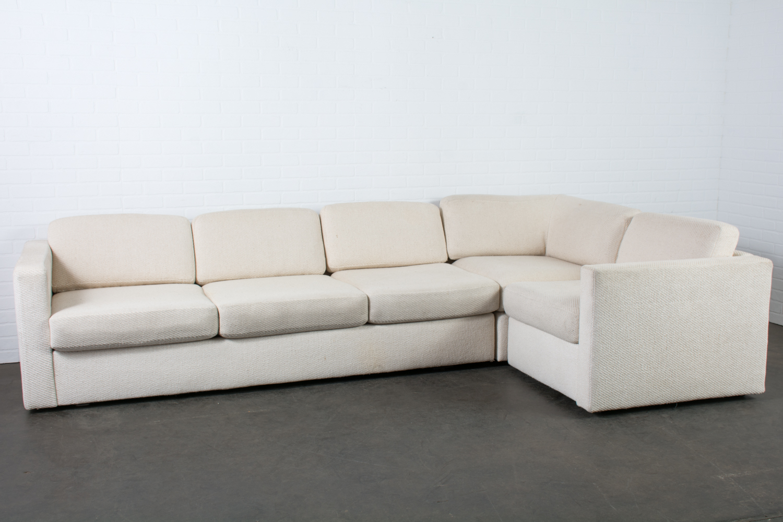 Milo Baughman Sectional Sofa For Thayer Coggin Mid Century Modern