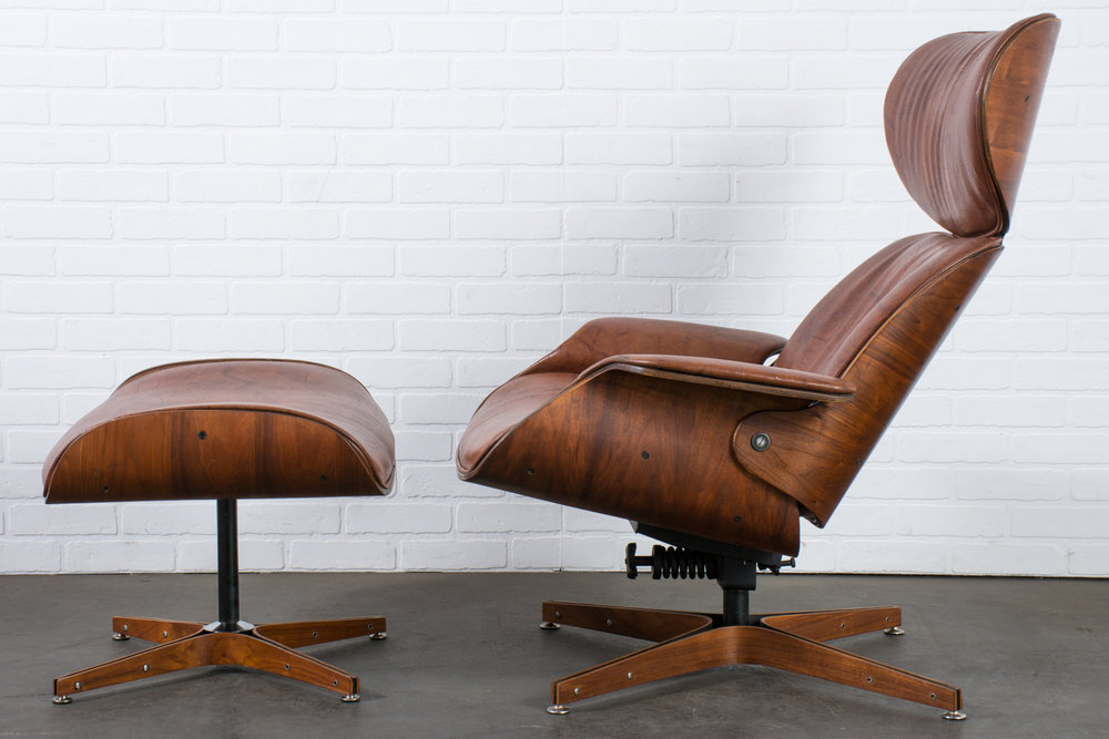 Beau George Mulhauser For Plycraft U0027Mr. Chairu0027 Lounge Chair And Ottoman, 1960s