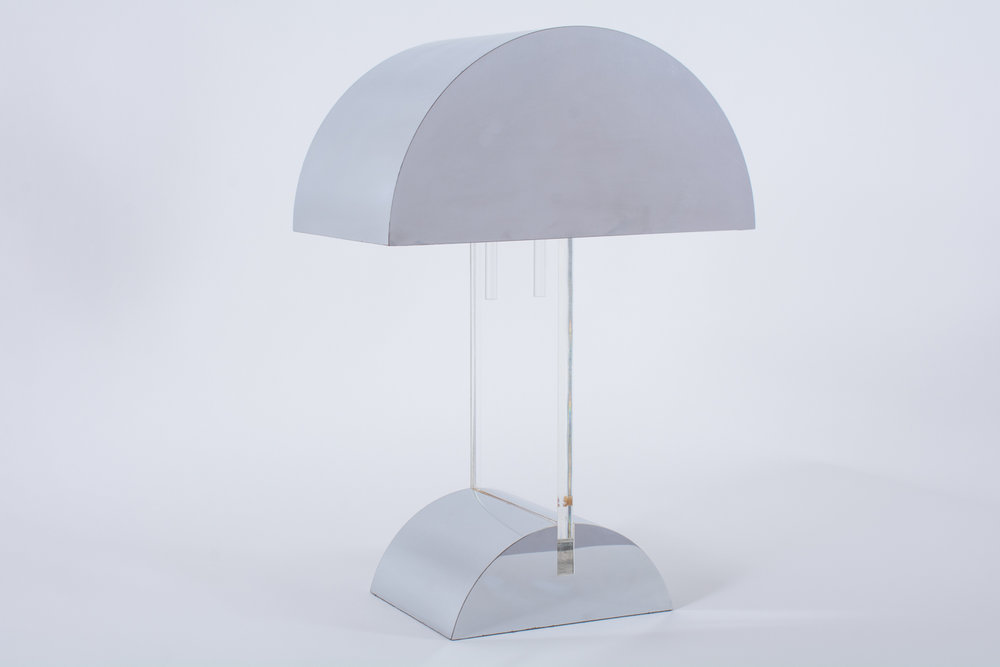 George Kovacs Chrome Lamp, 1970s