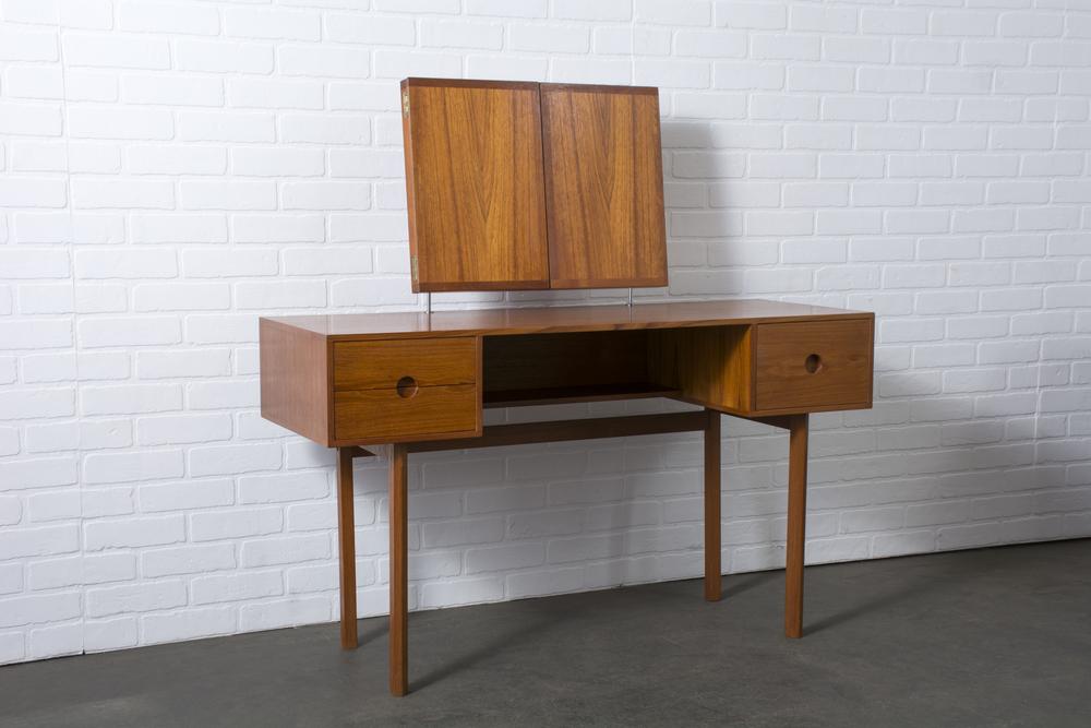Kai Kristiansen for Aksel Kjersgaard Teak Vanity, Denmark, 1950s