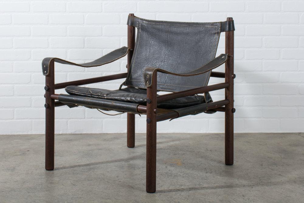 Arne Norell Vintage Mid Century U0027Siroccou0027 Safari Chair