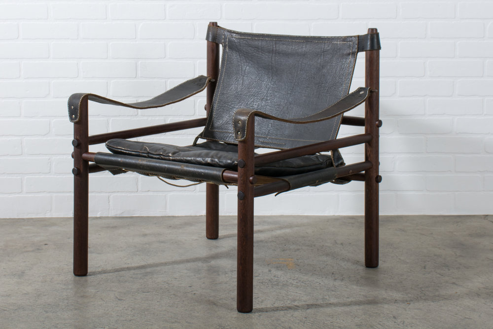 Copy of Arne Norell Vintage Mid-Century 'Sirocco' Safari Chair
