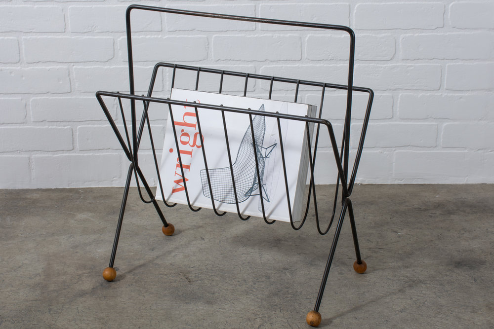 Copy of Mid-Century Modern Tony Paul Magazine Rack