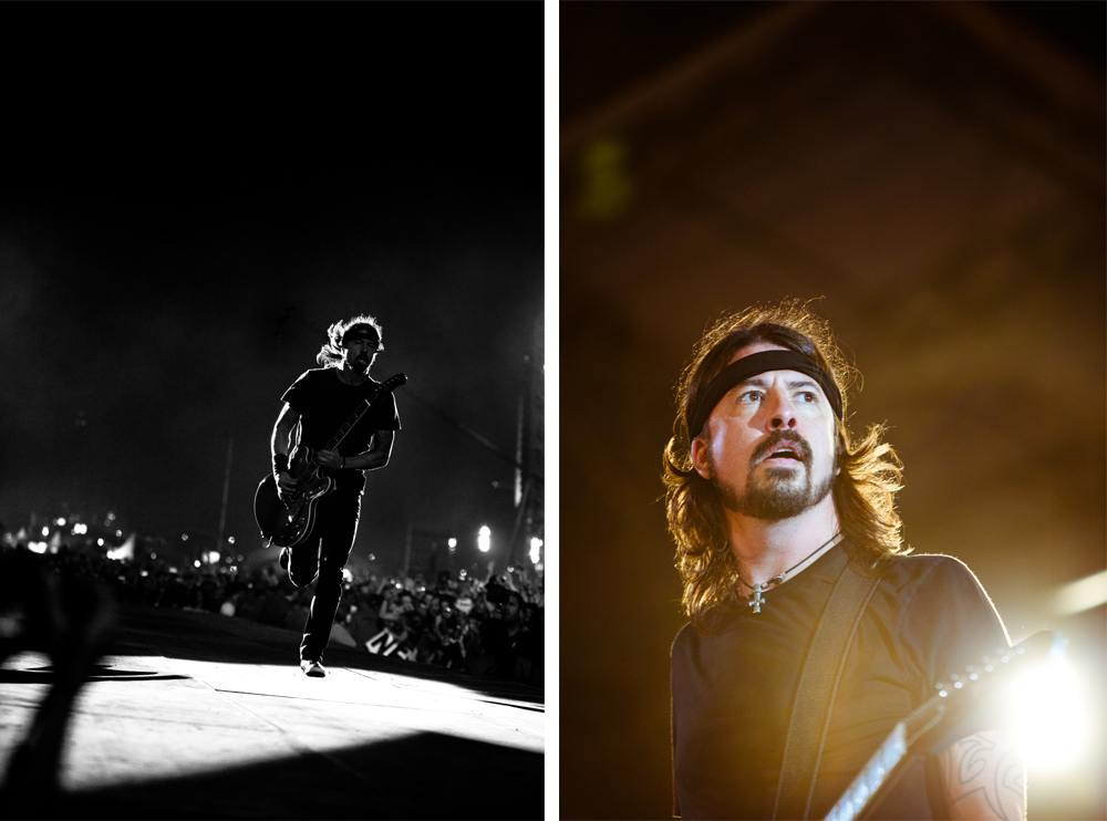 ⌃Dave Grohl, Foo Fighters
