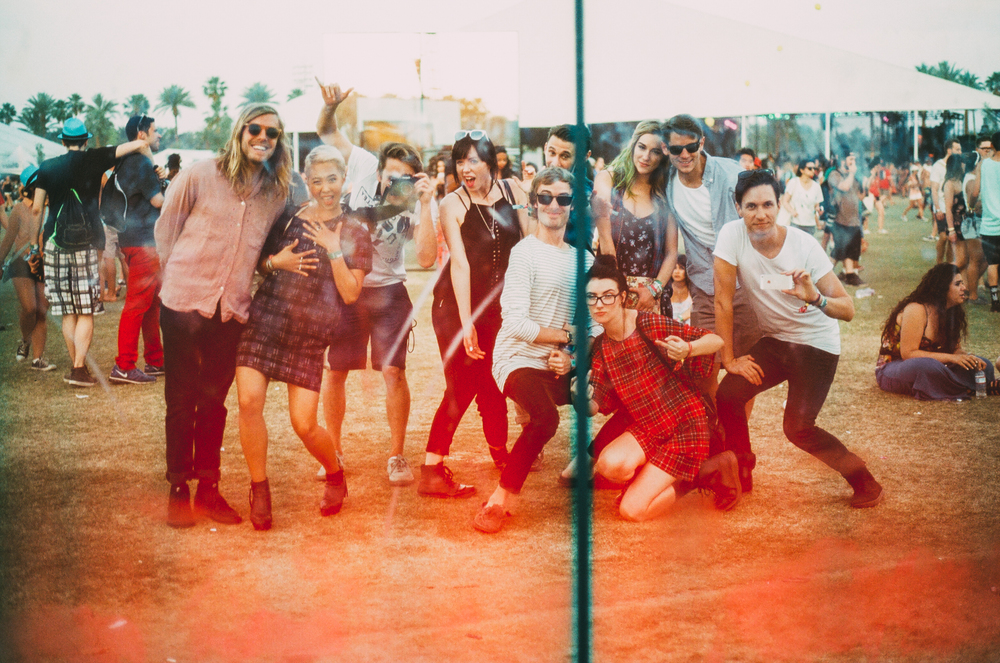 The Naked and Famous, Grouplove
