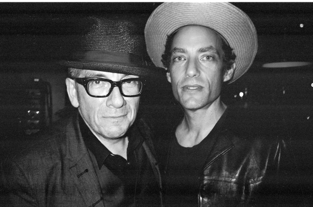 Elvis Costello and Jakob Dylan