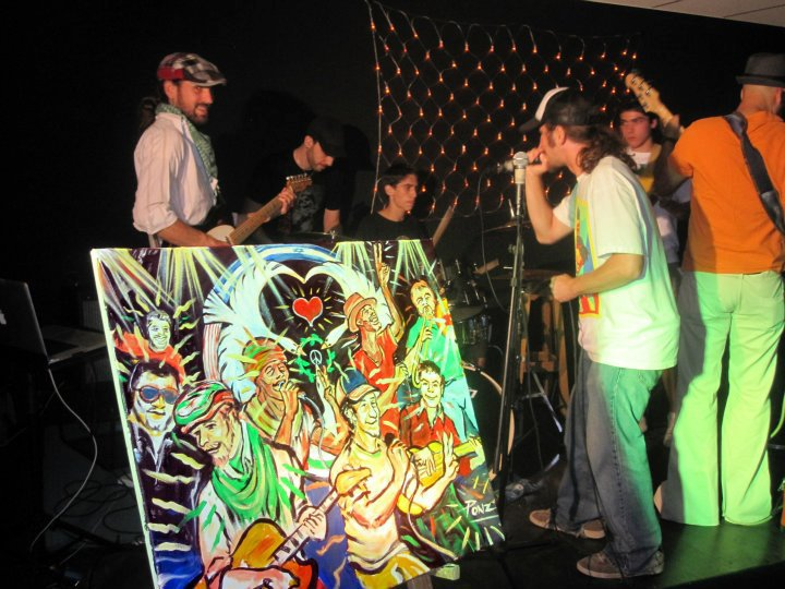 Performance at Gallery 29 in Kfar Saba, Israel