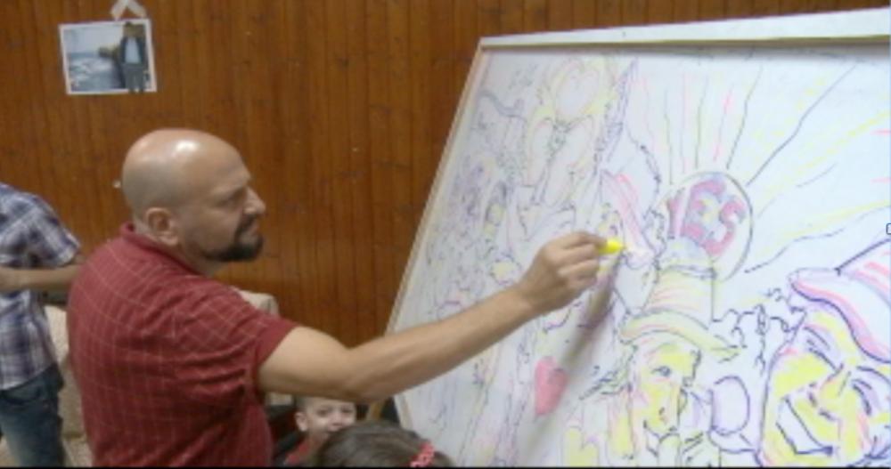 Drawing Performance in Qalqilya