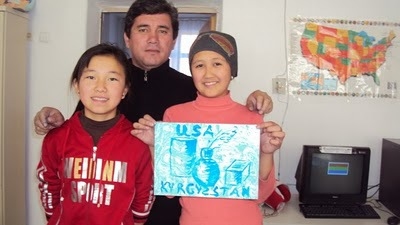 Greetings from our friends in Kyrgyzstan