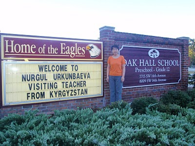 Welcome Nuri from Kyrgyzstan!