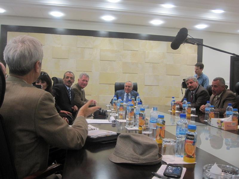 Meeting with Prime Minister Fayyad of Palestine