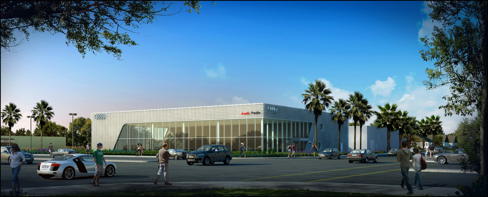 Audi Pacific | LEED® Gold Certified