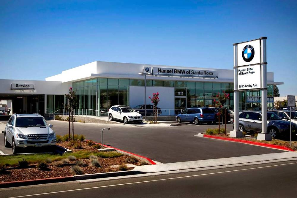 Hansel BMW, Future Retail Concept, Santa Rosa, CA