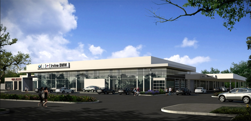 Irvine BMW Future Retail Concept