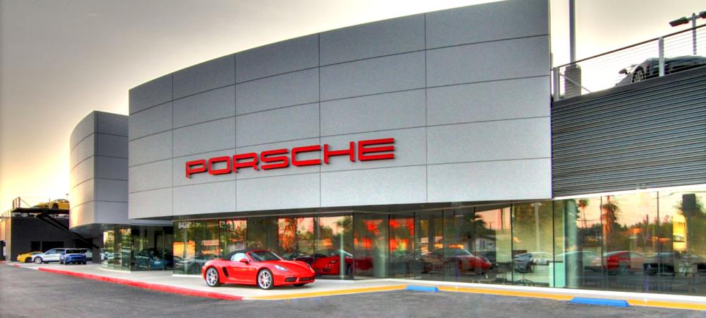 Walter's Porsche