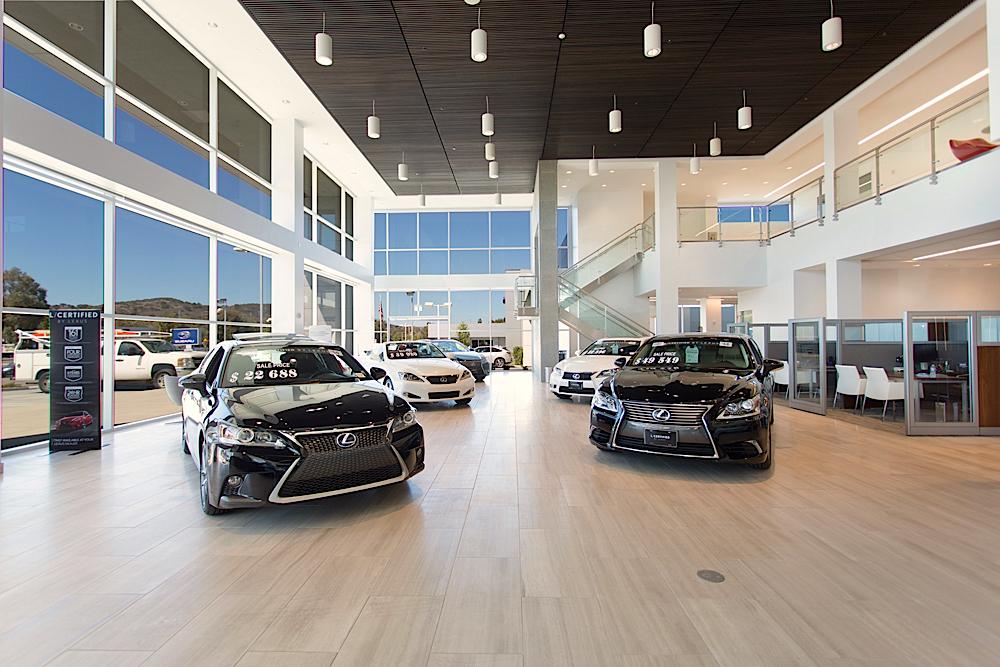 Nice ... Lexus Of Thousand Oaks ...
