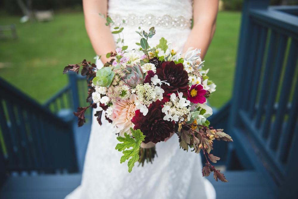 September garden-style Bridal Bouquet