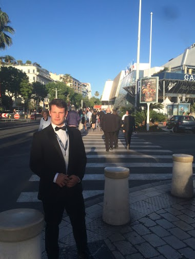 Ryan at Cannes Film Festival.