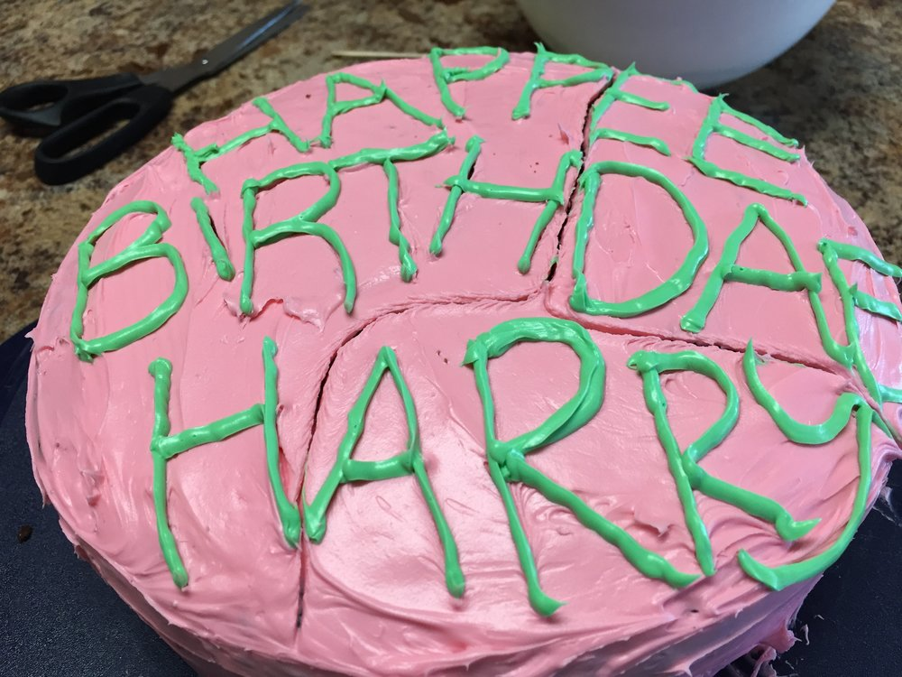 Food Movies Harrys Birthday Cake The Black Warrior Film Fest