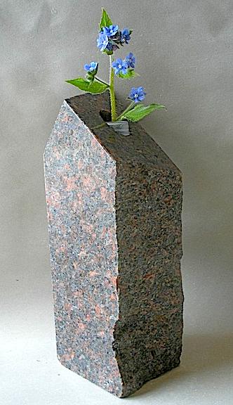 Granite Bud vase