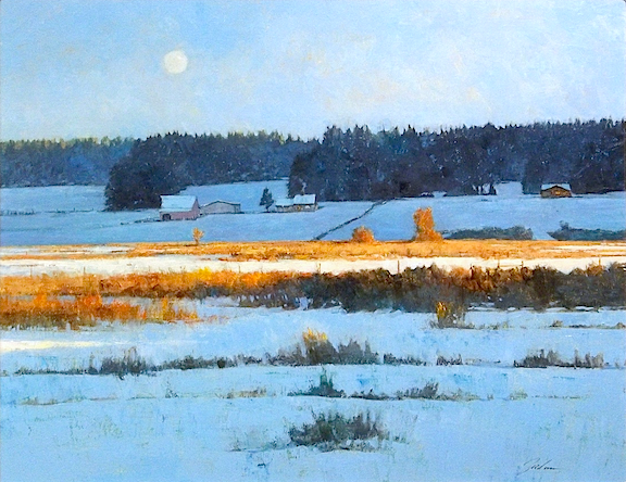 Bayview, Winter     oil    SOLD