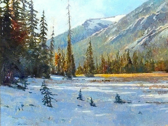 Washington Pass     oil    SOLD