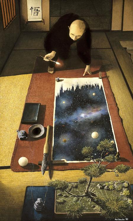 Satori open edition archival fine art print