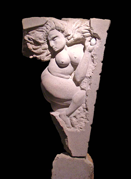 Rhea by Alexandra Morosco  sandstone