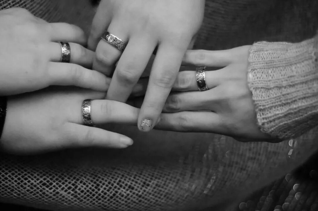 "Some of the girls wearing their ""Hope"" rings that we created for them for graduating from Whispers of Hope, a shelter and safe house for young girls coming out of terrible situations of abuse and trafficking. #endit #hope #HEALING #life #janetiscompany #rings #hopering #JEWELRY #jewelrydesigner #humantrafficking #refuge"