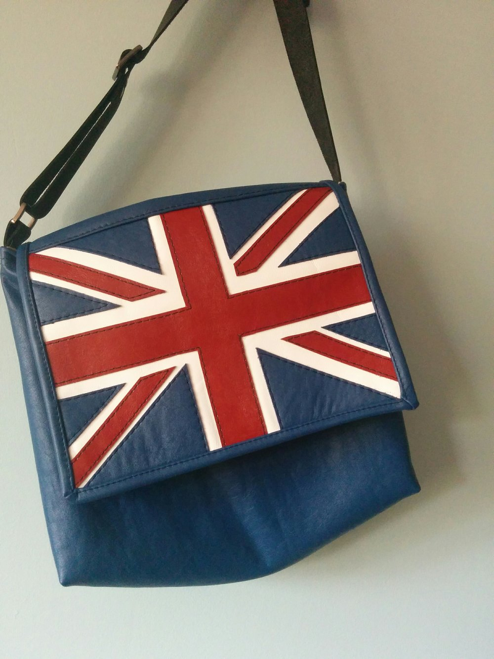 Union Jack in Leather