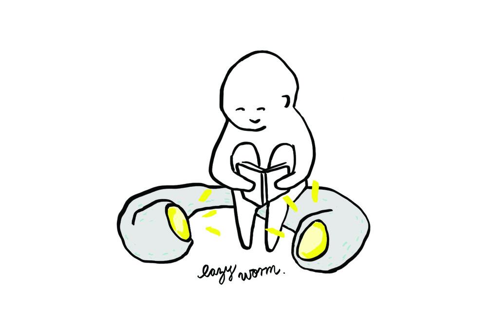 Lazy Worm Seat