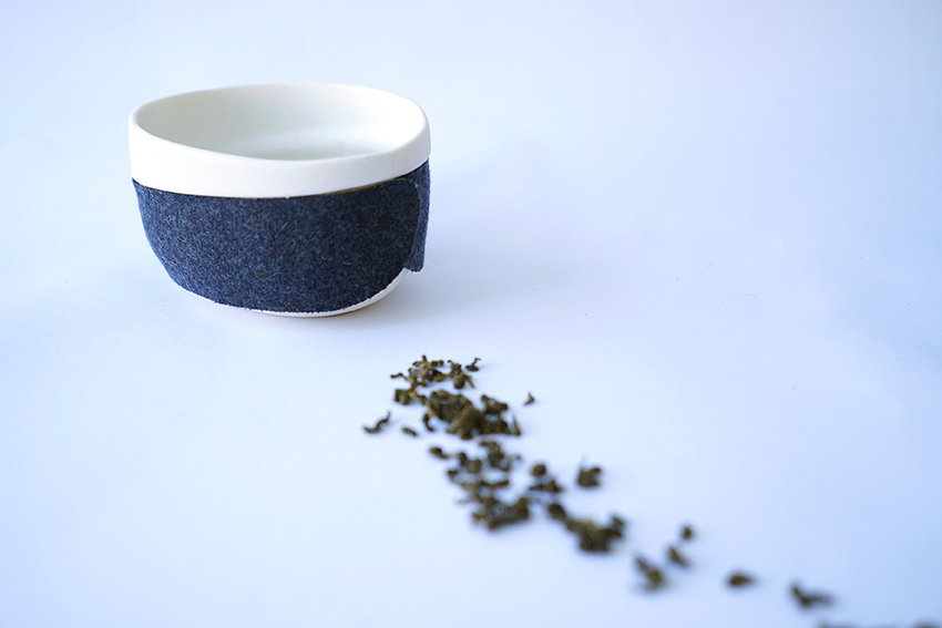 Haptic Tea Bowl Felt