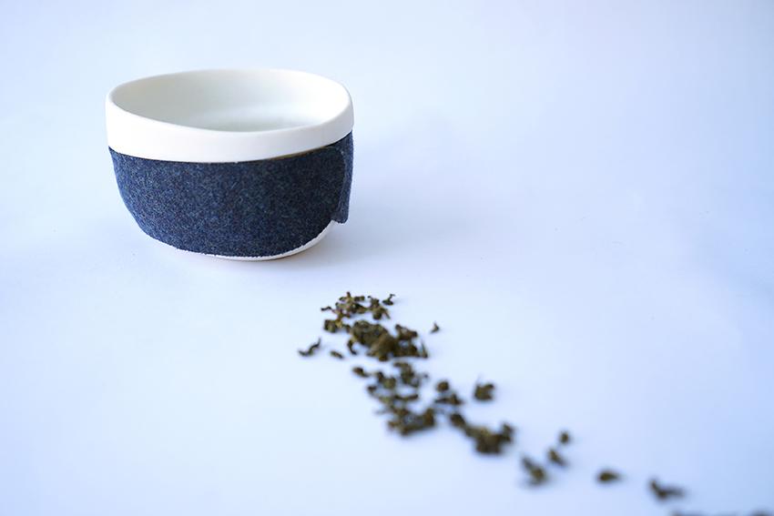 Haptic Tea Bowl Felt