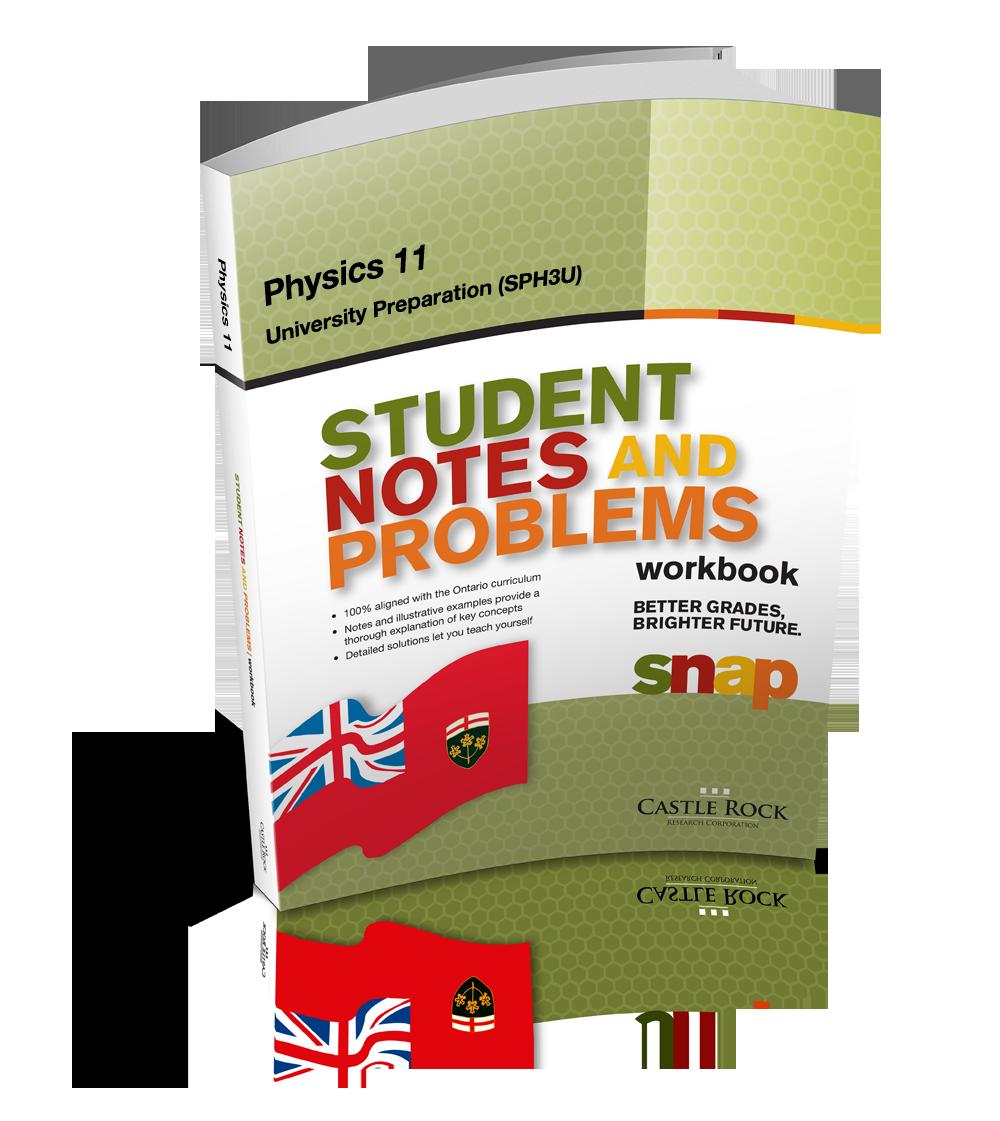 SNAP - Ontario Physics 11, University Preparation (SPH3U) — SOLARO ca