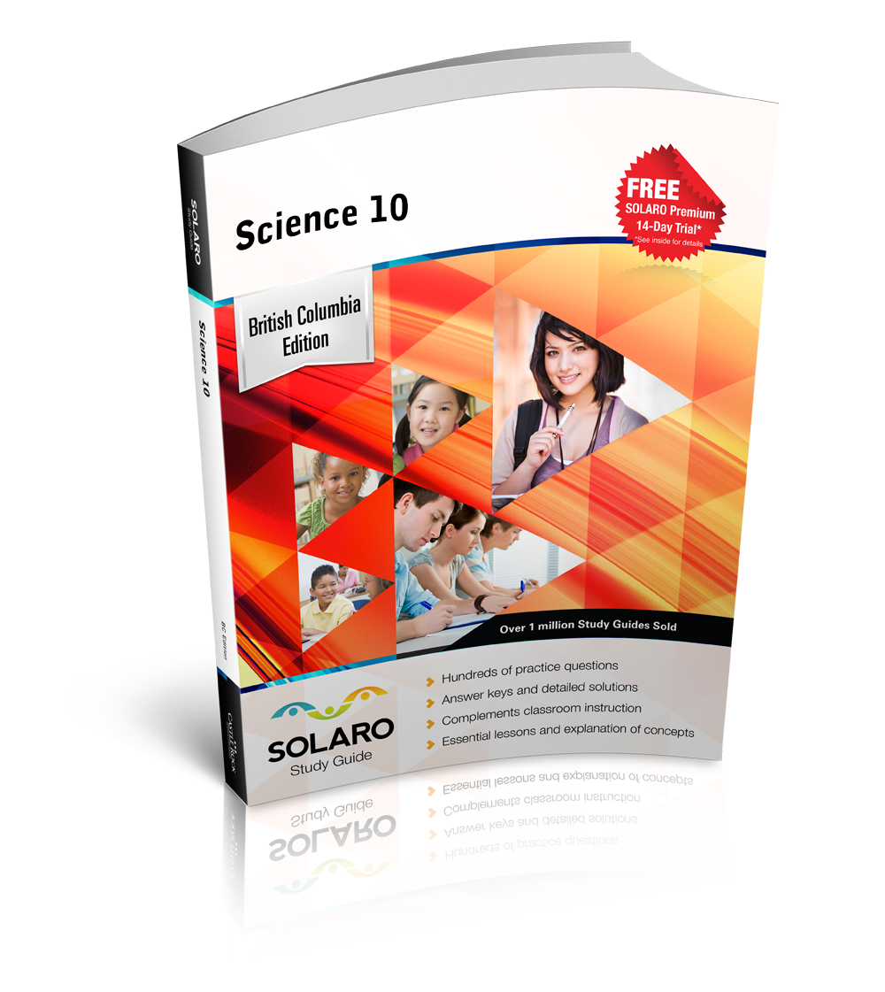 SOLARO Study Guide - B C  Science 10