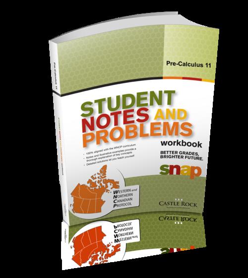 SNAP - W N C P  Pre-Calculus 11