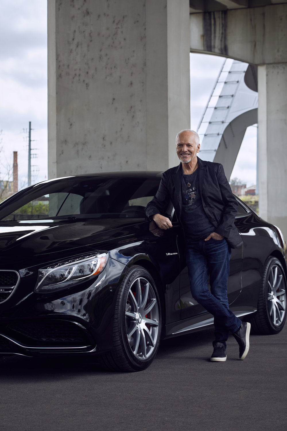 Peter Frampton for Motor Trends