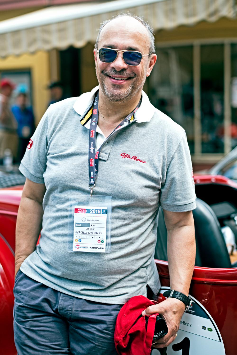 Leica Chairman.  Dr. Kaufmann