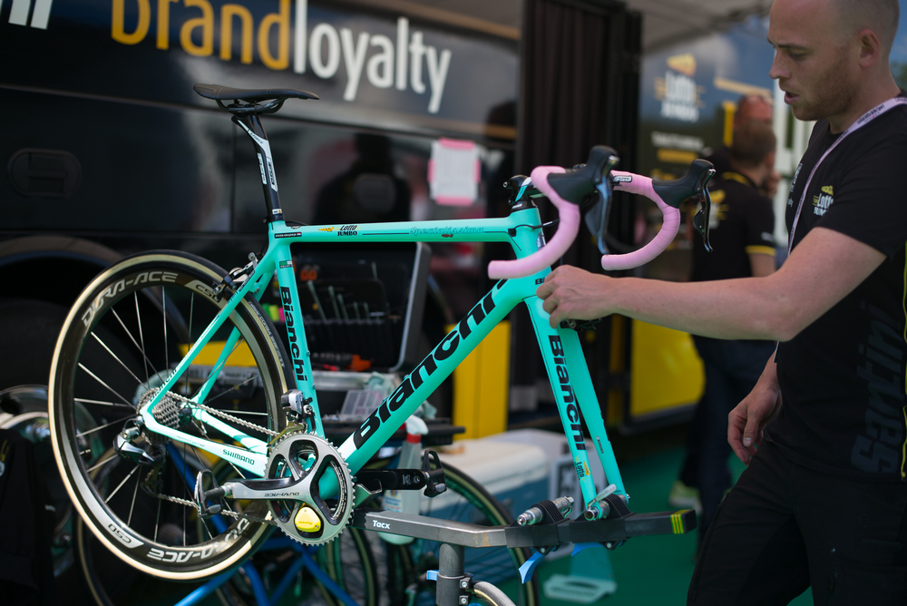 Bianchi in pink