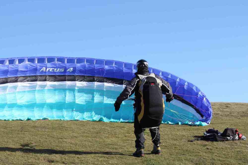 Paragliding Student Pilot