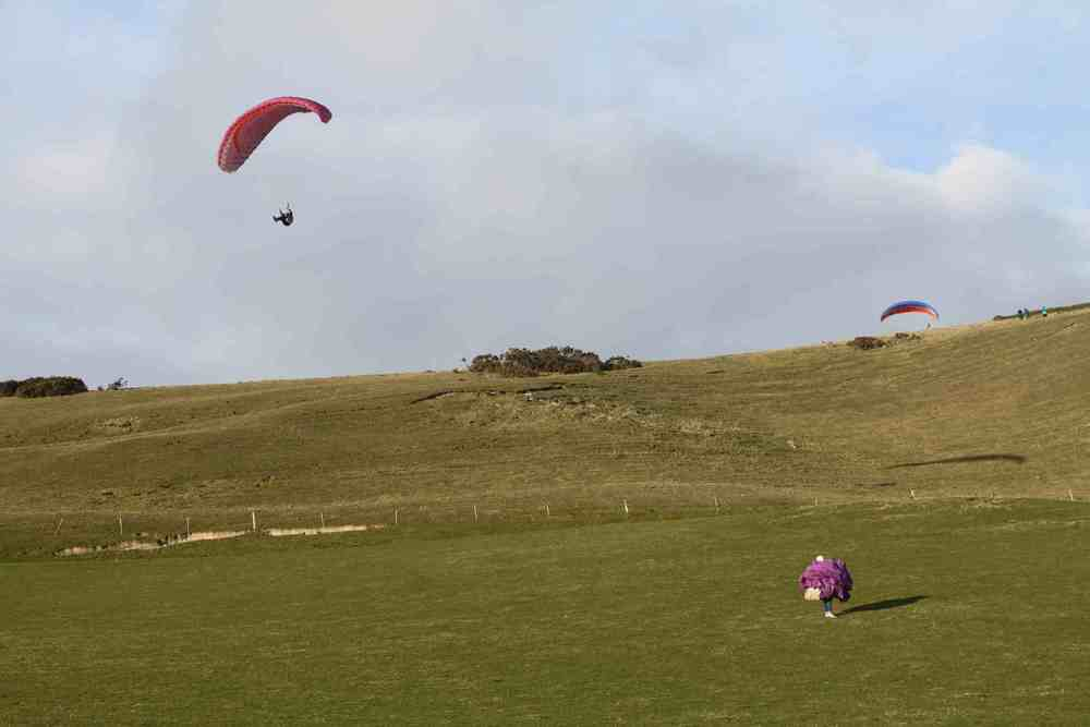 Two day paragliding course
