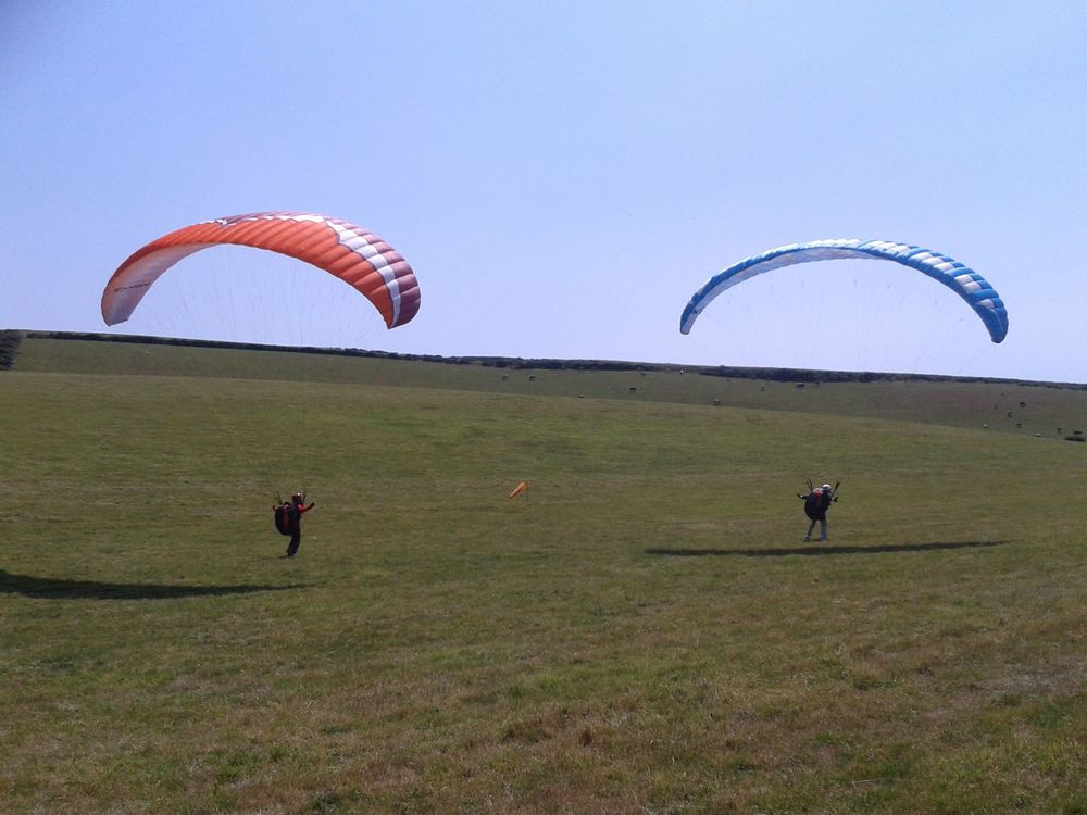 Two day paragliding courses